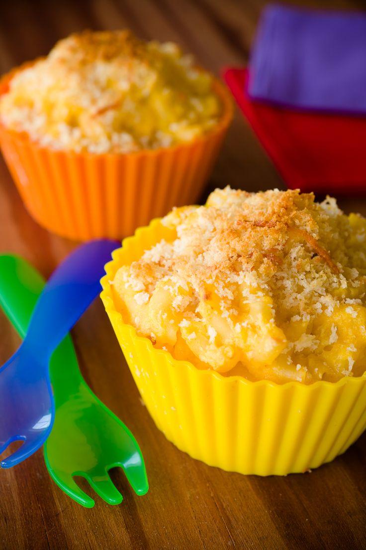 Butternut Squash Mac and Cheese Cupcakes | Recipe