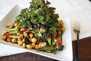 Krunchy Kale Salad   The Naked Kitchen