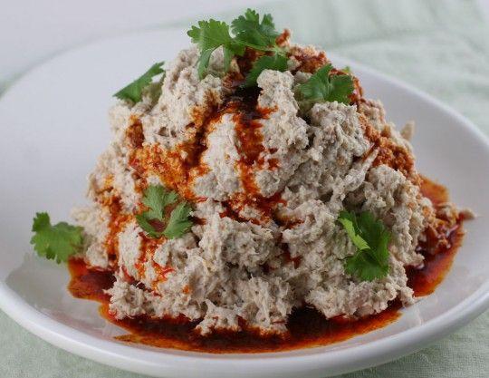 Cerkez Tavugu - Circassian Chicken Recipe http://www.yemek-tarifi.info ...