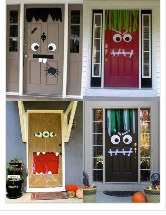 Halloween Classroom Door Decorations Ideas : Halloween front door or classroom holiday