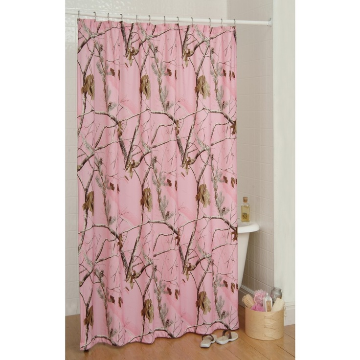 Make Your Own Curtain Rod Digital Camo Shower Curtain