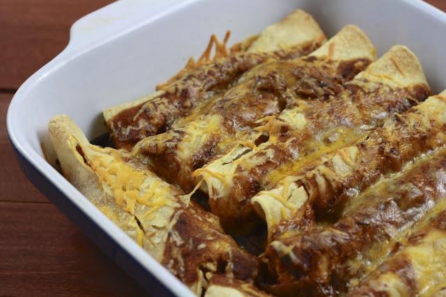 Chicken and vegetable enchiladas   Main Dish   Pinterest