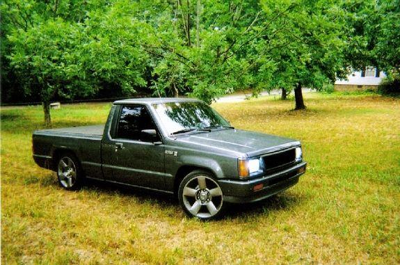 1991 dodge ram 50 small trucks pinterest. Black Bedroom Furniture Sets. Home Design Ideas