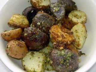 Pesto Roasted Potatoes | Potato, Potato | Pinterest