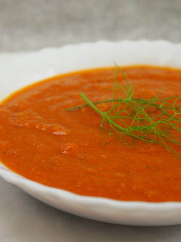 roasted tomato fennel soup recipe | Recipes | Pinterest