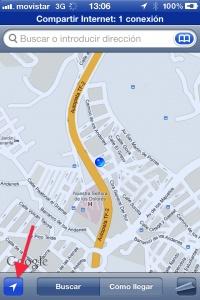 Usa iMessage para compartir tu ubicación.