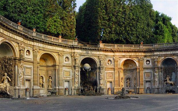 Frascati Italy  city photo : Pan's people: the Villa Aldobrandini at Frascati, near Rome, where ...