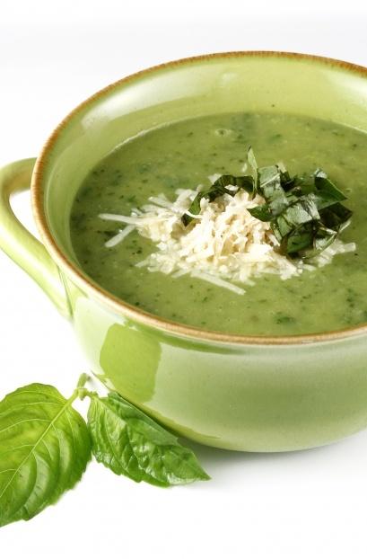 Zucchini Basil Soup - I can't wait for my garden zucchini bounty!!
