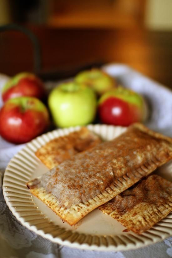 Apple Pie Turnovers I had to substitute won ton wrappers, pasted ...