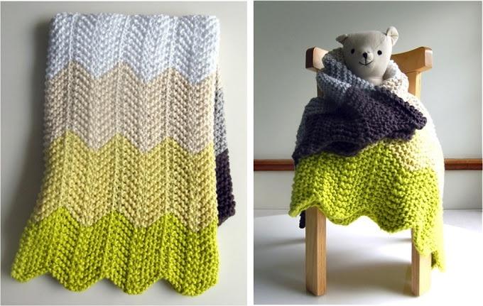 Chevron Knitting Pattern Afghan : knit chevron afghan Chevrons Pinterest