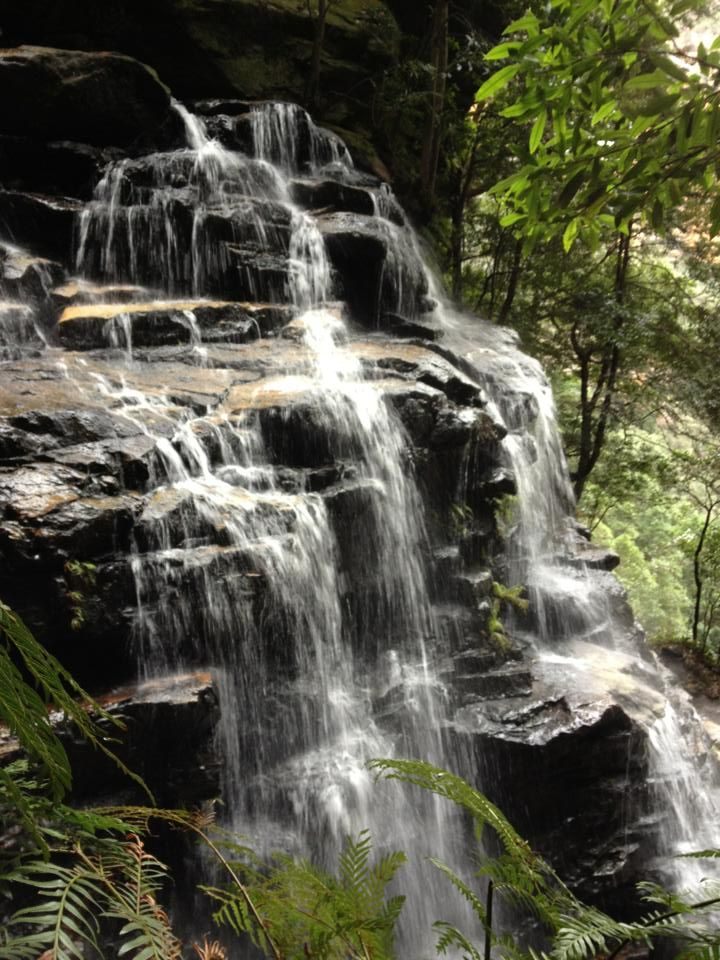 Blue Mountains, Australia {2013} #waterfall