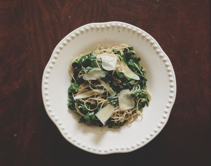 Lemony Collard Greens Pasta | Eat It | Pinterest