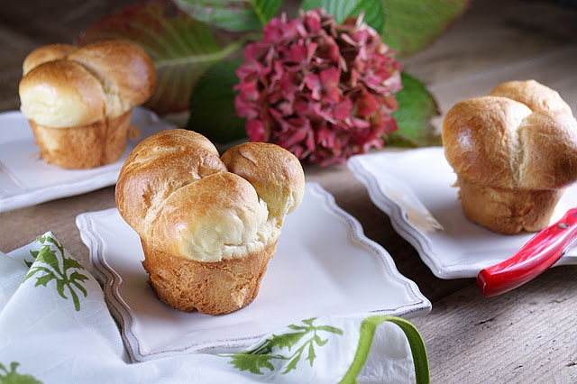 These bubble top brioche from @Patty Price look amazing!