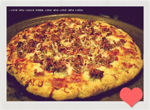 gluten free pizza with white sauce | Recipes | Pinterest