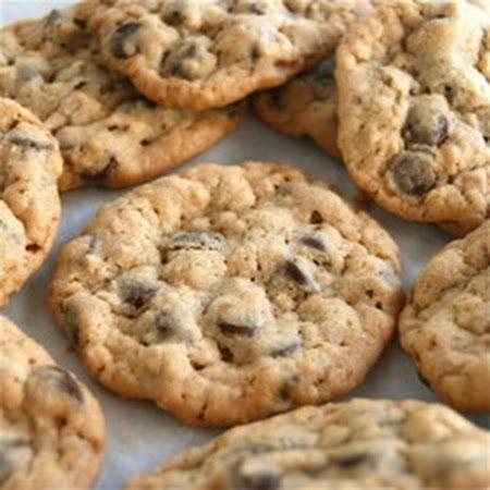 Chocolate Chip Oatmeal Cookies | Oatmeal Cookies | Pinterest