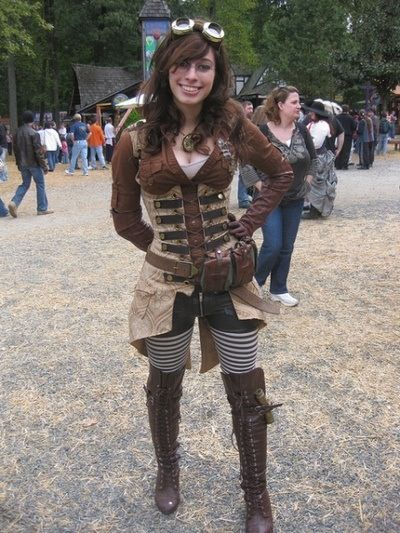 steampunk cosplay costumes ideas