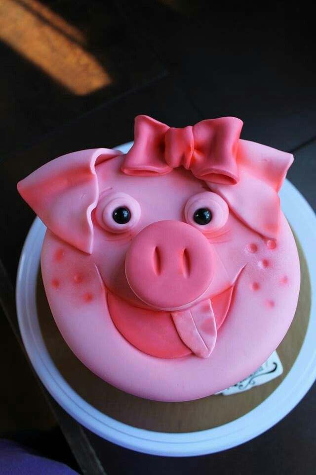 Gateau cochon id es d co gateau pinterest for Idee deco gateau