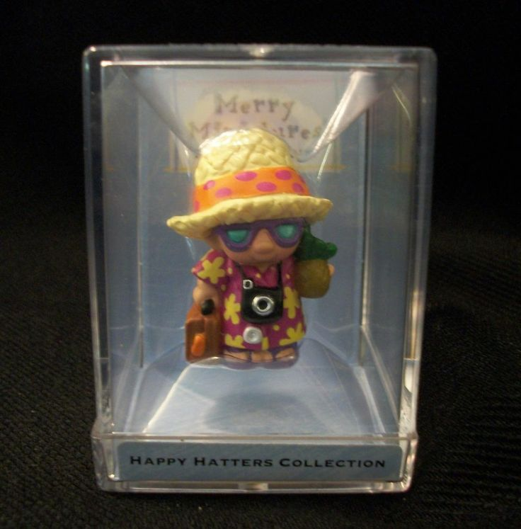 HALLMARK MERRY MINIATURES Panama Pete #8.  From August 2000 Happy Hatters Collection, In Original Box. Excellent Pre-Owned Condition! $9.99 obo (Free S&H)