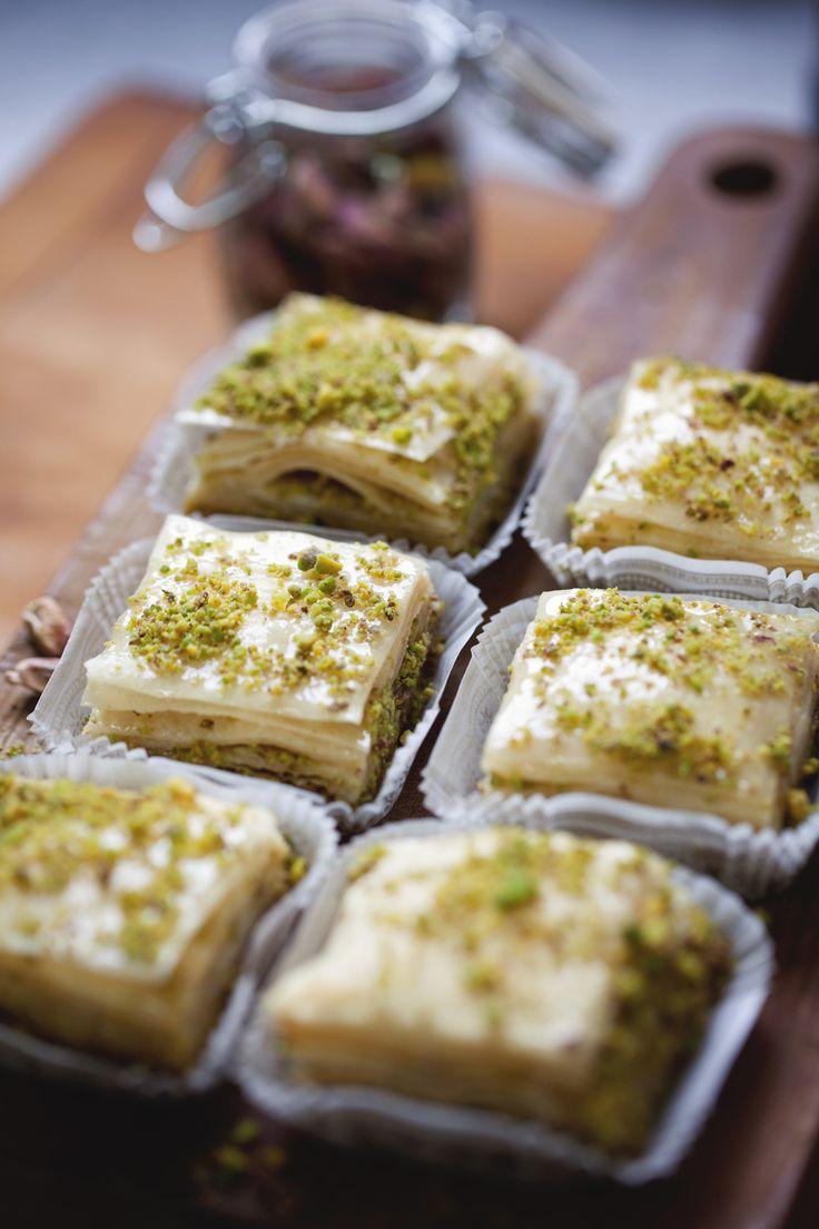 Pistachio Baklava | Bon appétit ! | Pinterest