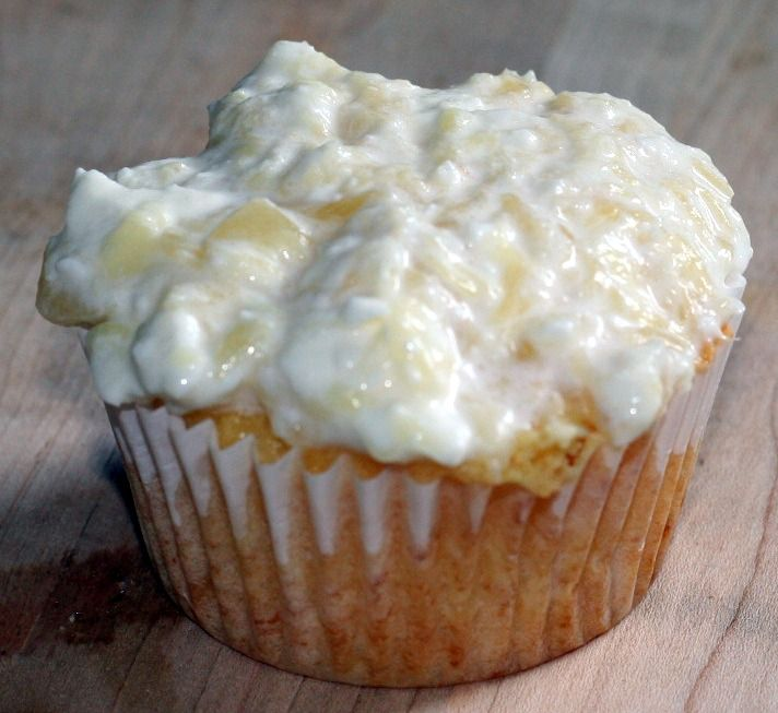 Pineapple Bliss Cupcakes | Food (1) | Pinterest