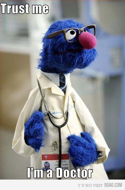 I have always trusted Grover.