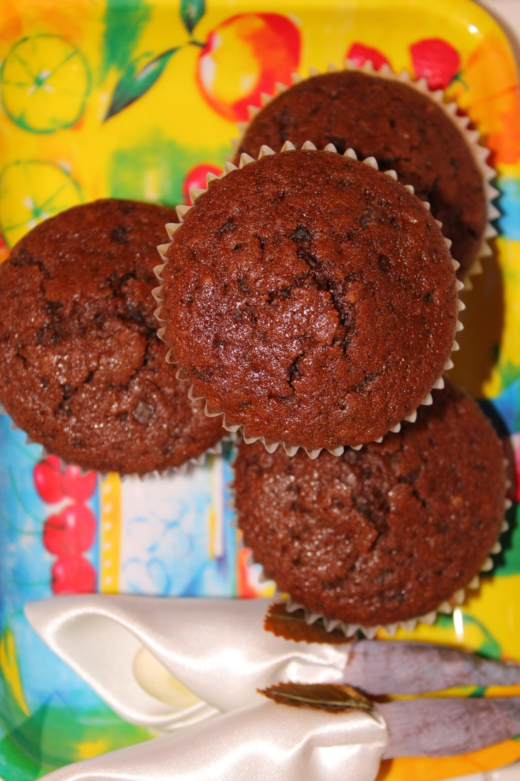 Chocolate chip muffins di Nigella | Nigella Lawson | Pinterest