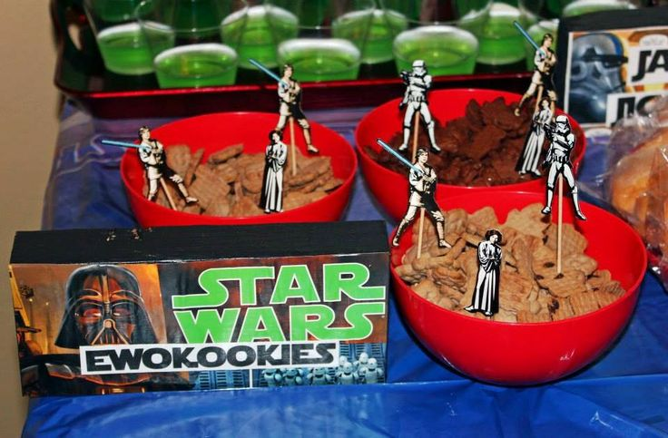 Star Wars Party food | star wars party | Pinterest