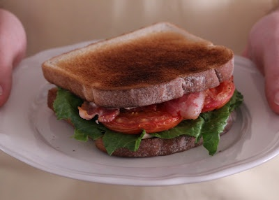 The Stafford Diaries: Roasted Tomato BLT with Spicy Mayo