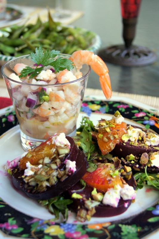 The best beet salad ever: roasted beets for an hour, tossed them with ...