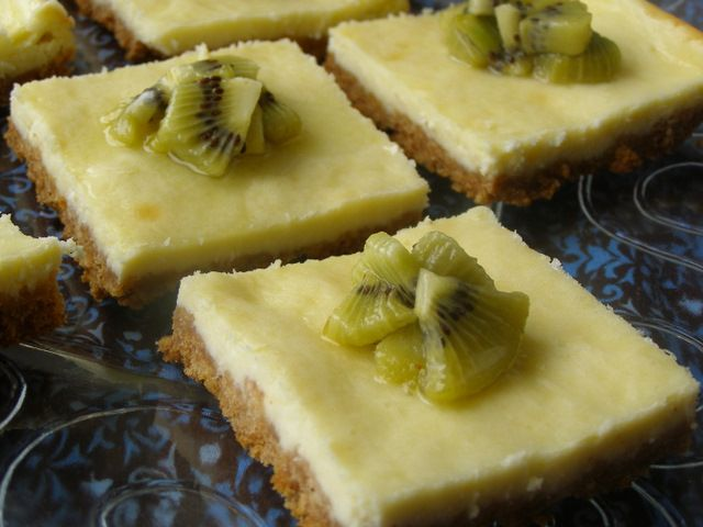 Kiwi Cheesecake Recipe — Dishmaps