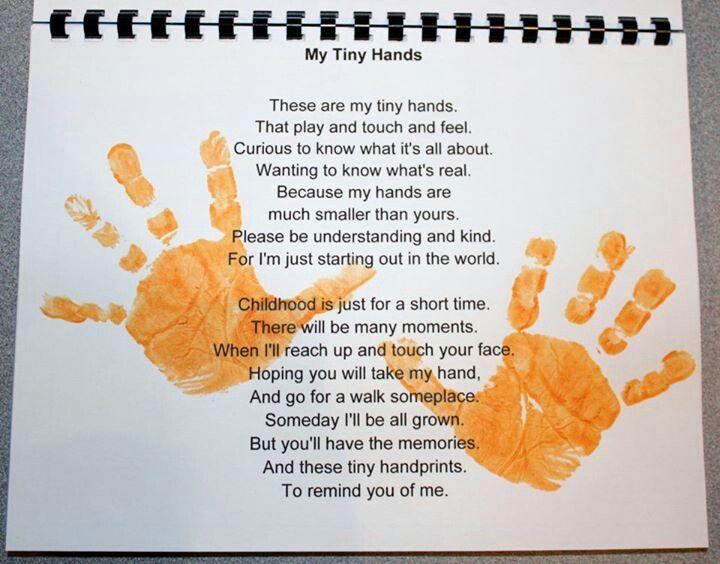 Monthly Calendar Rhyme : Handprint calendars with poems new calendar template site
