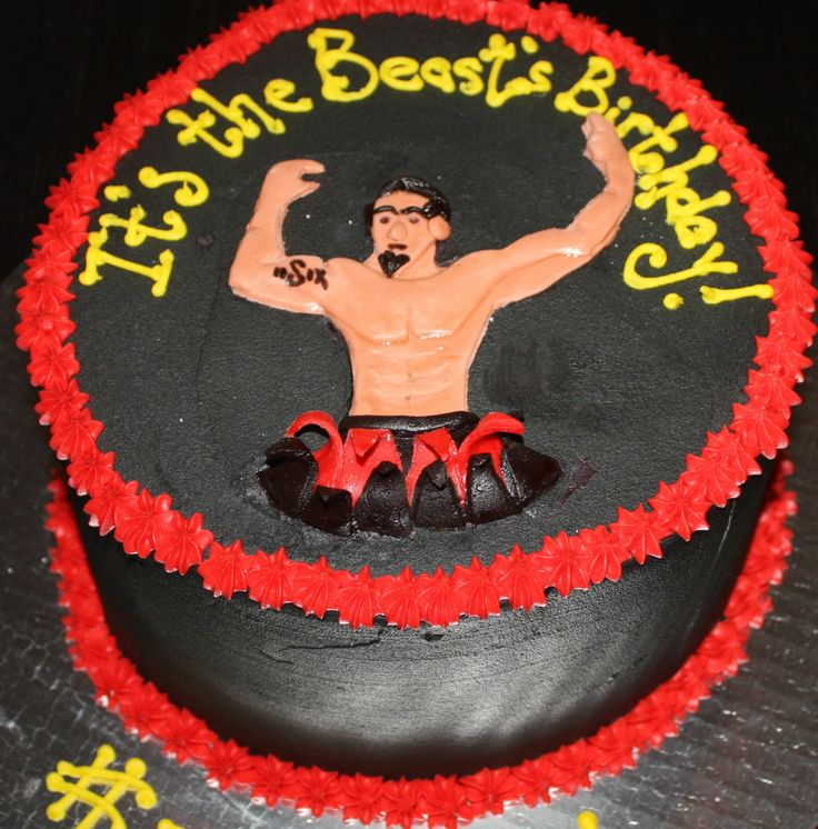 Cake Designs For Gym Lovers : Workout at the Gym Lover s Birthday Cake Birthday Cakes ...