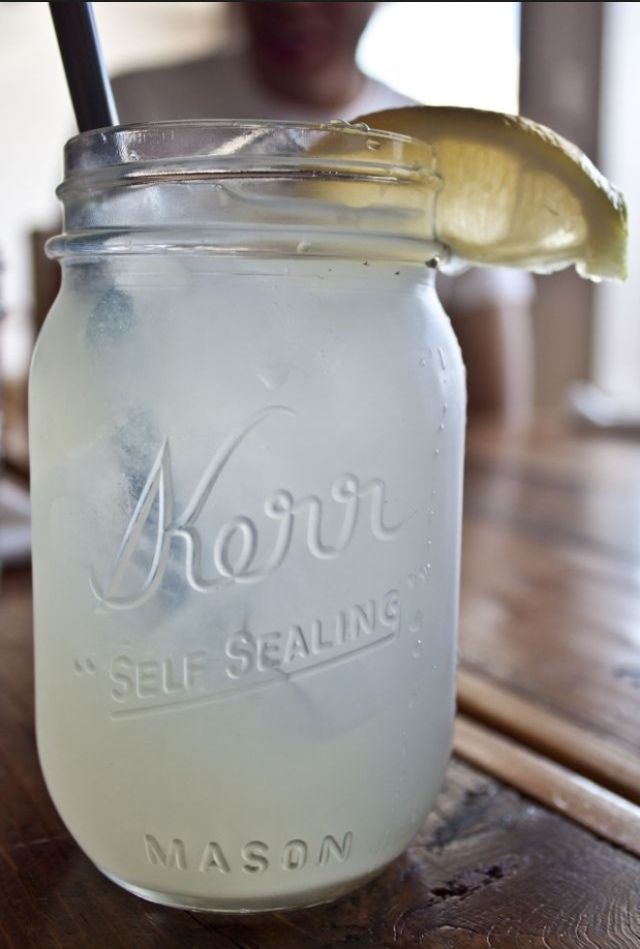 Use a mason jar for that jumbo sized lemonade