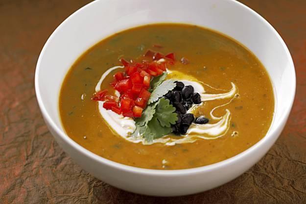 Pumpkin and Black Bean Soup   pumpkin all year round.   Pinterest