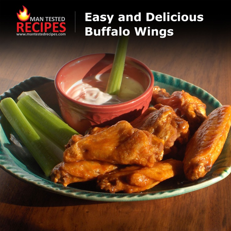 Easy Grilled Buffalo Wings Recipe — Dishmaps