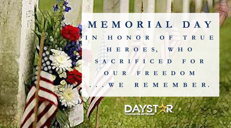 memorial day holiday in usa