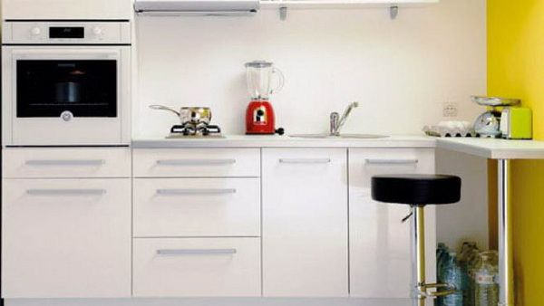 Very Contemporary White Kitchen Designs