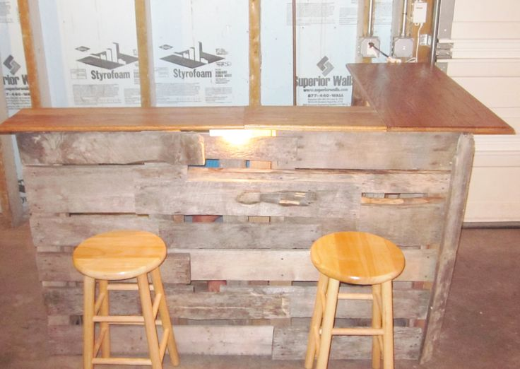 Pinterest discover and save creative ideas for Diy bar ideas for basement