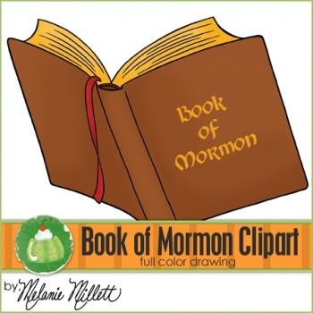 book of mormon clipart