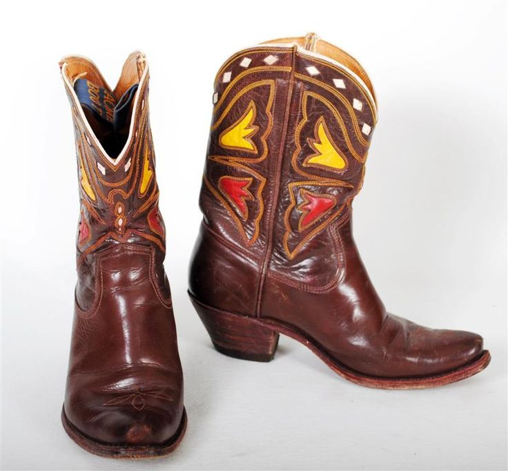 vintage acme boots western boots