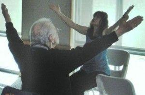 Chair yoga sequence y o g a pinterest