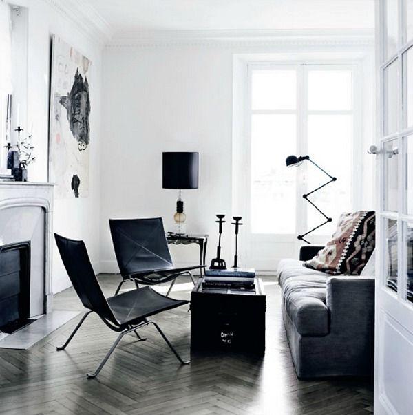 woonkamer-jielde-lamp  Studio June - Livingroom  Pinterest