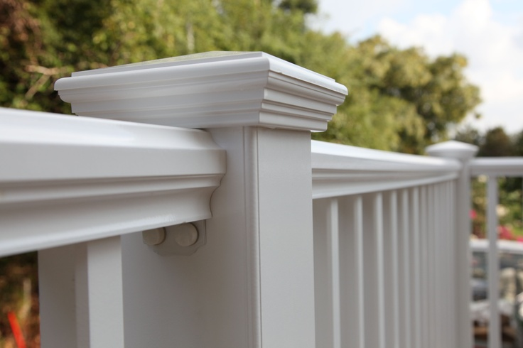 Duralife railways railing in white outdoor projects pinterest