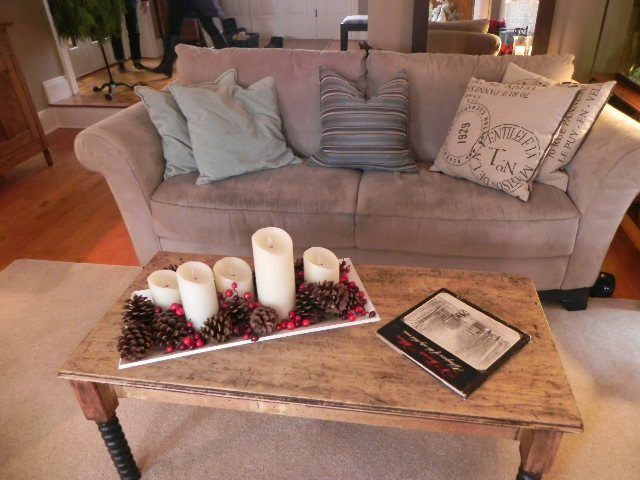Coffee Table Centerpiece Ideas Enchanting With Coffee Table Centerpiece idea | Rustic Home Decorating | Pinterest Image