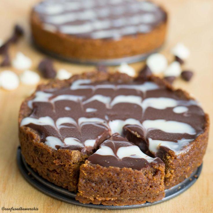 Easy Chocolate Tart - Confused Bawarchis | Sugar Pie | Pinterest