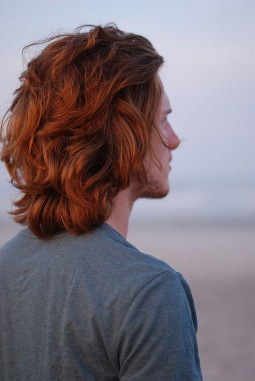 мужчина с имбирными волосами