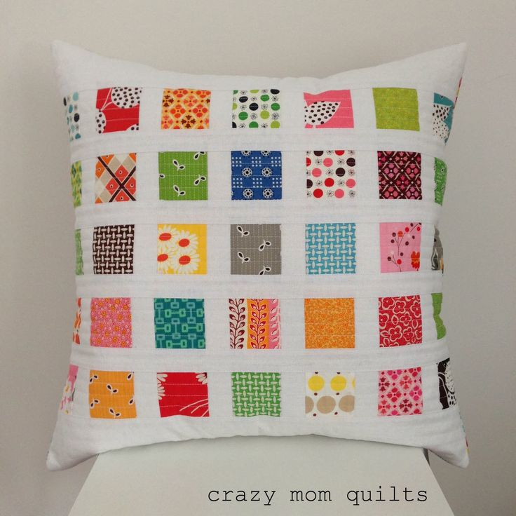 crazy mom quilts: contact print pillow (a tutorial)