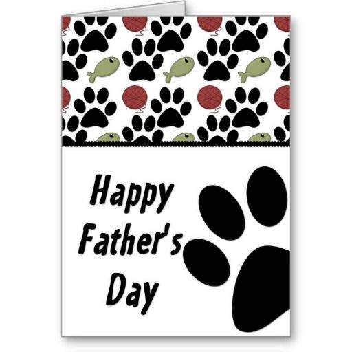 father's day postcard template