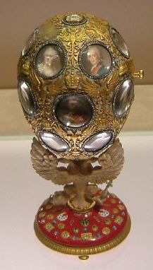 Romanov Tercentenary egg