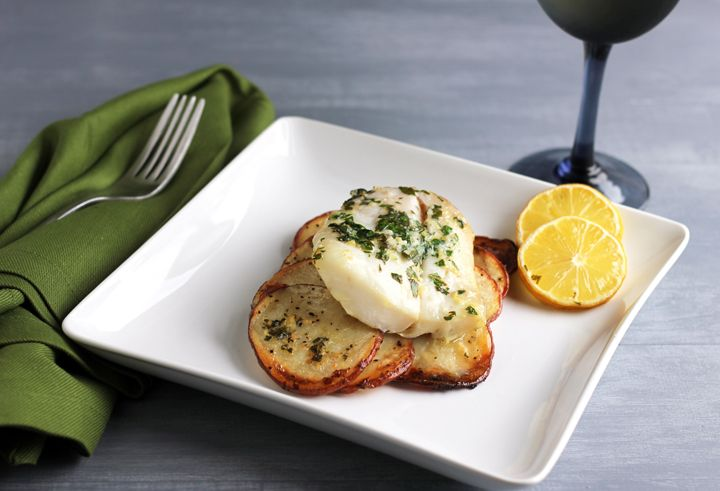 baked lemon herb cod bake herb lemon zest butter baked lemon herb cod ...
